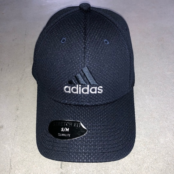 cdfe85f8 Adidas Stretch Fit Climalite Hat Size S/M New NWT